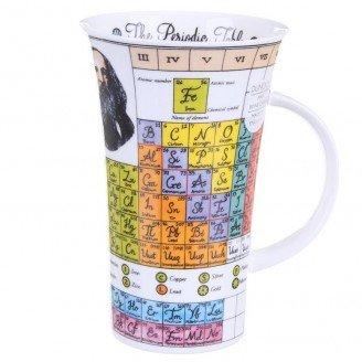 dunoon fine bone china glencoe shaped mug the periodic table