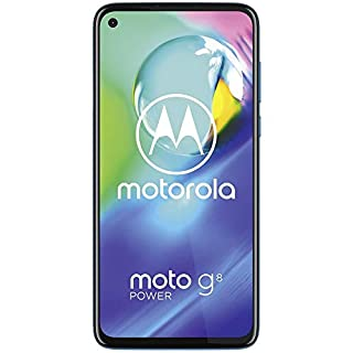Motorola Moto G8 Power, 64GB GSM Unlocked - Blue (Renewed)