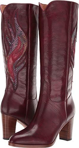 FRYE Women's June Flame Tall Wine Multi 7.5 B US