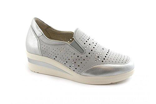 Zapatos R20123 Walk a Melluso El Inoxidable Grises Deportivos Cu IOwqqdCx