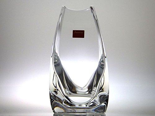 バカラ 花瓶 ● マサイ フラワーベース クリア クリスタル ヴェース 透明 箱付き B07D8HFWQ6