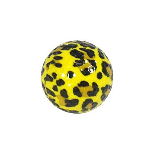 NitroノベルティゴルフボールLeopard 1表示チューブ( 3パック) B00Z7DDHR8