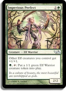 Magic: the Gathering - Imperious Perfect - Duel Decks: Elves vs Goblins