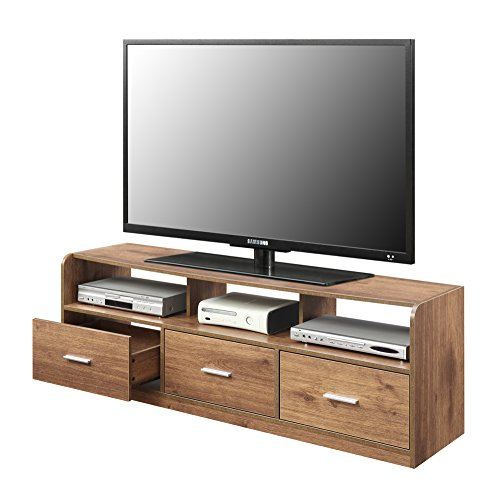 Convenience Concepts Designs2Go Tribeca 60-Inch TV Stand, Mocha