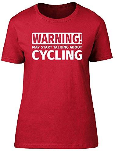 Shopagift - Camiseta - para mujer Rosso
