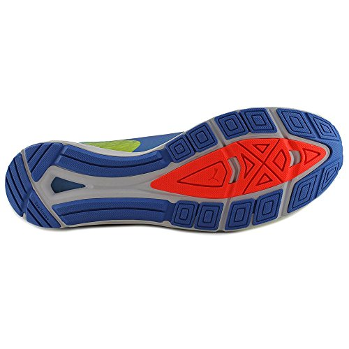 Puma Speed 300 Ignite Men Rounde Sneakers Sintetiche Multicolor Giallo-elettrico Blu Lemnade