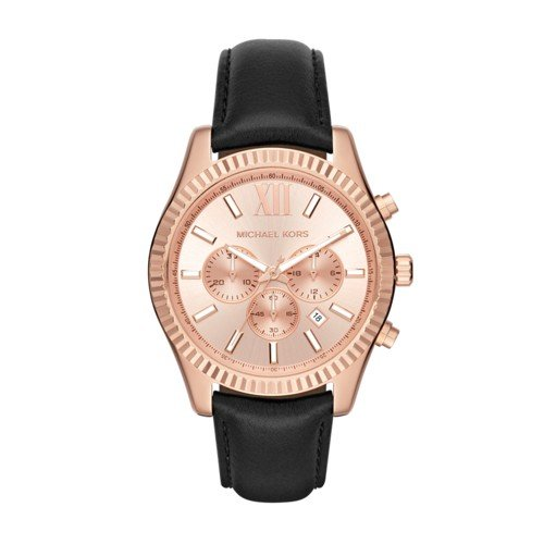 Michael Kors Men's Lexington Rose Gold-Tone Watch - Kors Michael Guys
