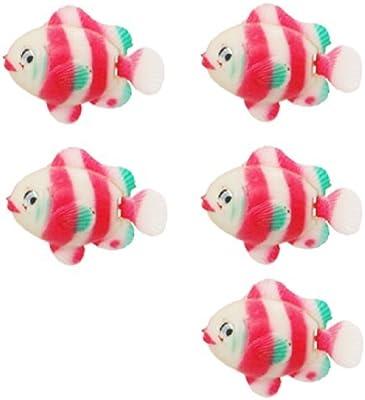 eDealMax Fish Jardin flotante de plástico acuario Ornamental