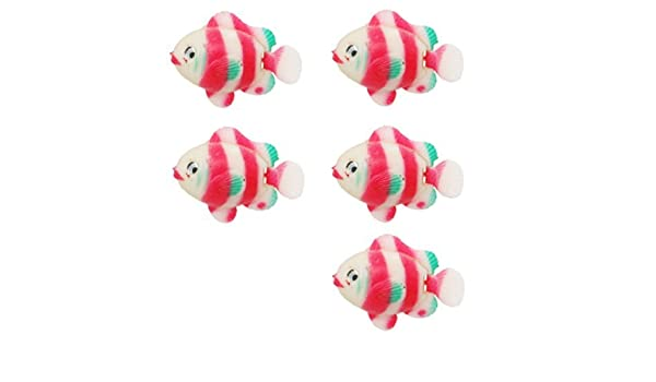 Amazon.com: eDealMax Fish Jardin flotante de plástico acuario Ornamental: Pet Supplies