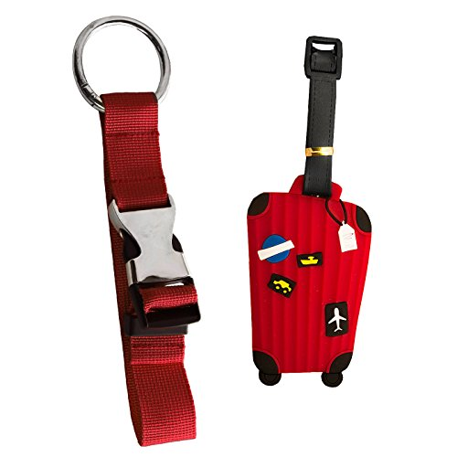 DIYJewelryDepot Luggage Strap and Clip for Carry On Travel Accessories like Strollers, Luggage, - Secure Bag or Jacket Hands Free - Mays Landing Mall