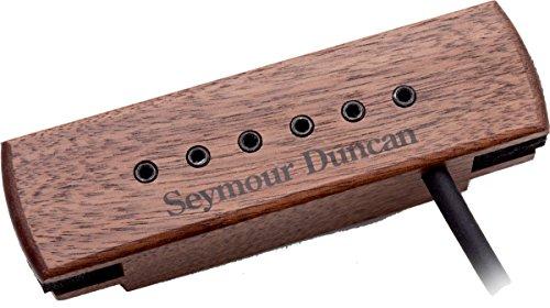 Seymour Duncan Woody XL Adjustable Pole Pieces Soundhole Pickup Walnut