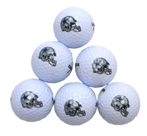 NFL Dallas Cowboys Golf Ball, Pack of 6