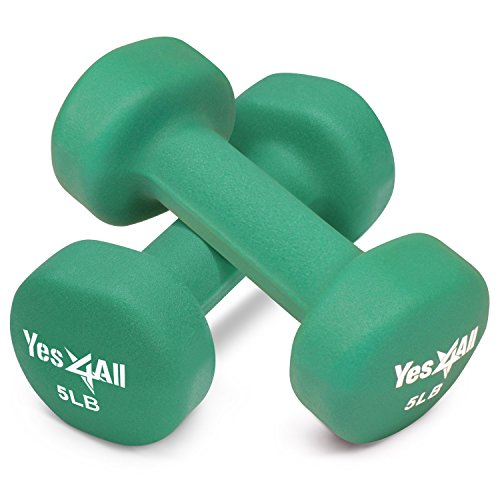 Yes4All Deluxe Neoprene Dumbbells Pair