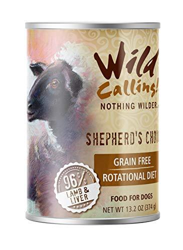wild calling dog food - 1