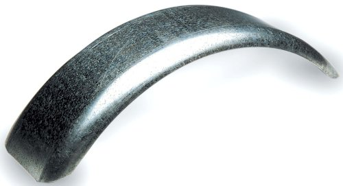 Tie Down 86265, Single Round Metal Fender, Galvanized Steel, 12 inch Wheel Size, 1 Per Pack