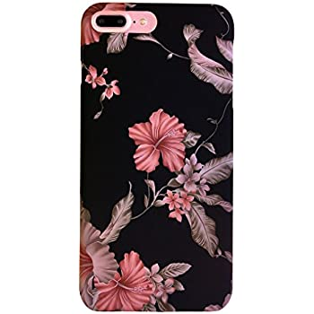 iphone 7 phone cases black flowers