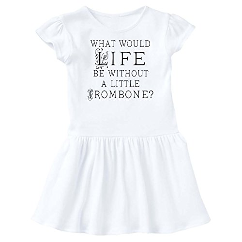 layer Music Quote Infant Dress 6 Months White c7e5 (List Marching Band Instruments)