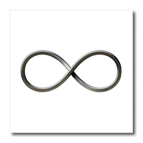 Amazon 3drose Ht242353 Infinity Symbol On White Background