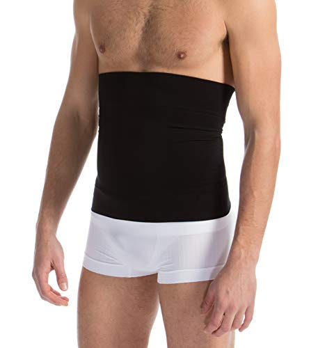 - FarmaCell 405 (Black, L) Men's Compression Waist Control Belt, Shapewear Band