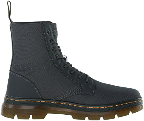 Dr Combs Martens Men's Nylon Combat Charcoal Boot rqqdEw