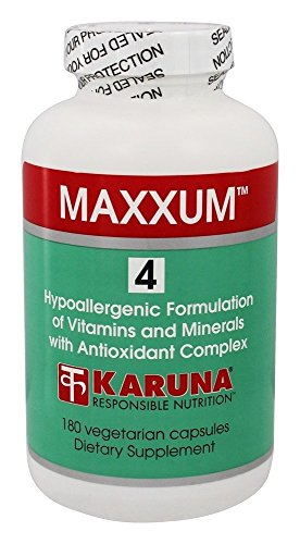 Karuna Nutrition - Maxxum 4 Multi-Vitamin - 180 Vegetarian Capsules