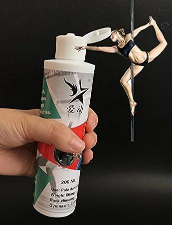 China Hebei tuoyou química 200 ml peso levantamiento gimnasio para bailando en barra de tiza líquida: Amazon.es: Deportes y aire libre