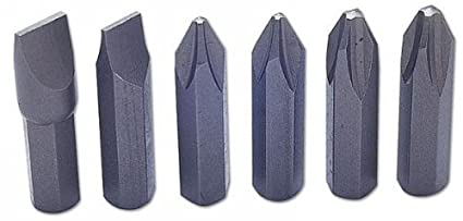 Laser 2180 - Juego de Puntas para Destornillador de Impacto (6 Piezas)