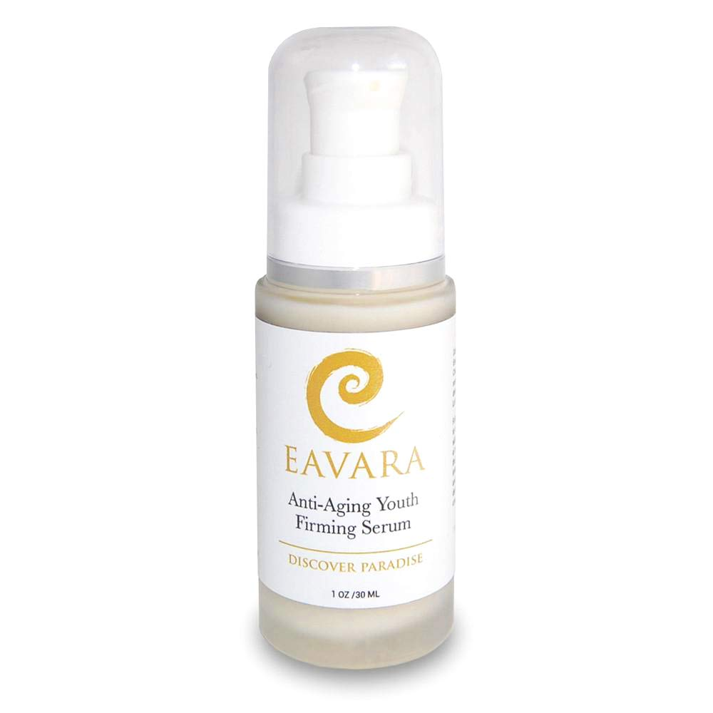 Organic Anti Aging Anti Wrinkle Serum - Award Winning Face Serum to Reduce Wrinkles and Fine Lines - Natural Organic Skin Care for Firming, Tightening, Lifting and Rejuvenating by Eavara