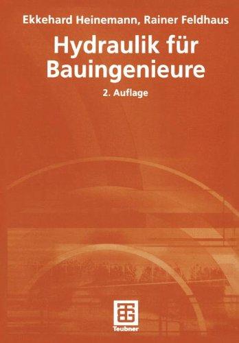 Hydraulik für Bauingenieure (German Edition)