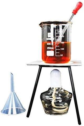 Sucastle 1000ml Nuovo Laboratorio Vapore Allolio Essenziale Depuratore Distillatore dAcqua per Kit di Cristalleria W//Condensatore Graham Hot Stove