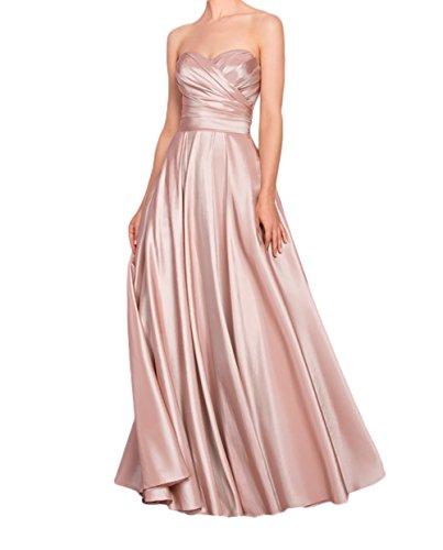 Rosa Abendkleider Jugendweihe Braut Brautjungfernkleider Rosa Kleider Satin Marie Festliche Kleider La Bvqx6APpP