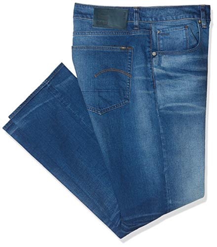 082 Raw G rinsed Nero Uomo Jeans star 8970 S0wqZT