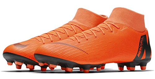 Nike Uomo Superfly da VI Black Mercurial Orange MG Calcio t Total Scarpe Academy rOqrwCa