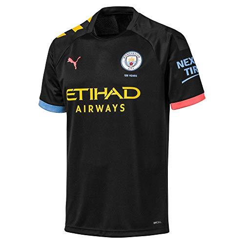 (PUMA Manchester City Kids Away Shirt 2019/20-7-8 Years)