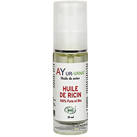 ayur-vana aceite de ricino Bio 30 ml
