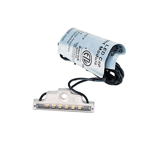 Fortress Accents Downlight Post Cap LED Strips 4-Pack (Aluminum post cap sold separately)