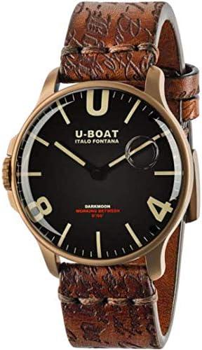 [ユーボート]U-BOAT DARKMOON(ダークムーン) 44 IP BRONZE クォーツ 腕時計 8467 [正規輸入品]