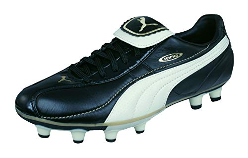 PUMA King XL i FG Womens Leather Soccer Boots/Cleats-Black-9.5