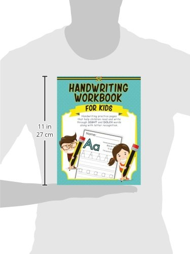 Handwriting Workbook for Kids: Handwriting practice pages that ...
