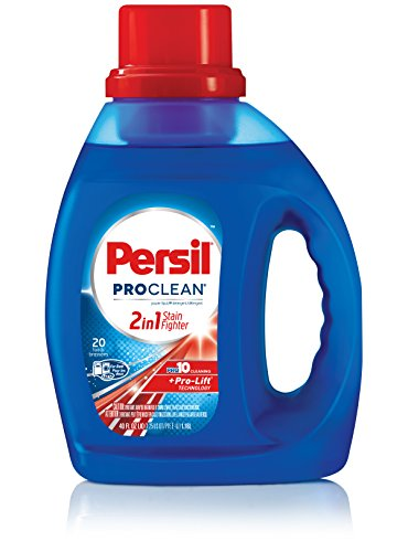 Persil ProClean 2-in-1 Liquid Laundry Detergent, 40 Fluid Ounces, 20 Loads
