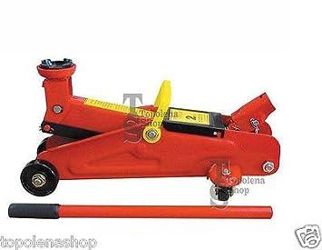 Gato Coche Elevador Hidráulico A carrito mecánico Alcance 2T 2000 kg: Amazon.es: Coche y moto