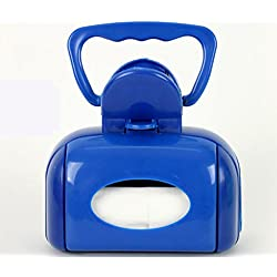 Pooper Scooper with Handle Pet Dog Waste Bag Holder with Grip