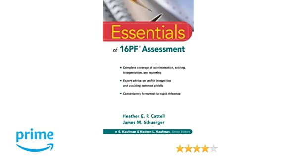 16pf questionnaire test