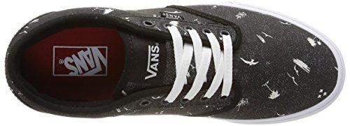 Vans Mens Atwood (beach) Skate Schoen Zwart / Mystic Blue