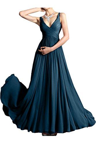 Missdressy -  Vestito  - plissettato - Donna Blu inchiostro 40