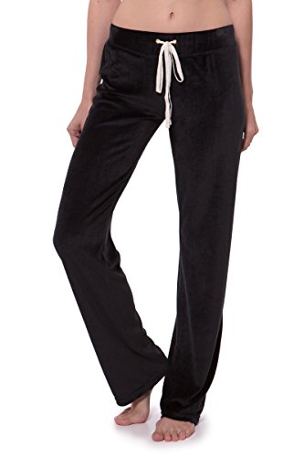 Stretch Velour Pants - 1