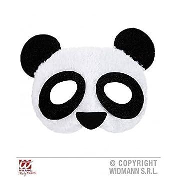 Mascara de oso panda