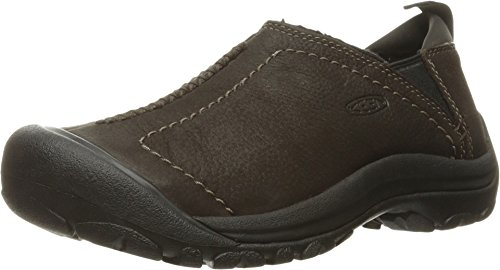 KEEN Women's Kaci Winter Waterproof Shoe, Peat, 8.5 M US by KEEN