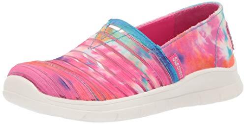 Skechers Kids Girls' Pureflex 3-Cloud Dreams Sneaker, Multi, 3.5 Medium US Big Kid ()