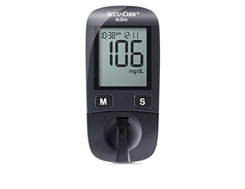 Accu-Chek Active Glucometer (Best Blood Glucose Meters Comparison)